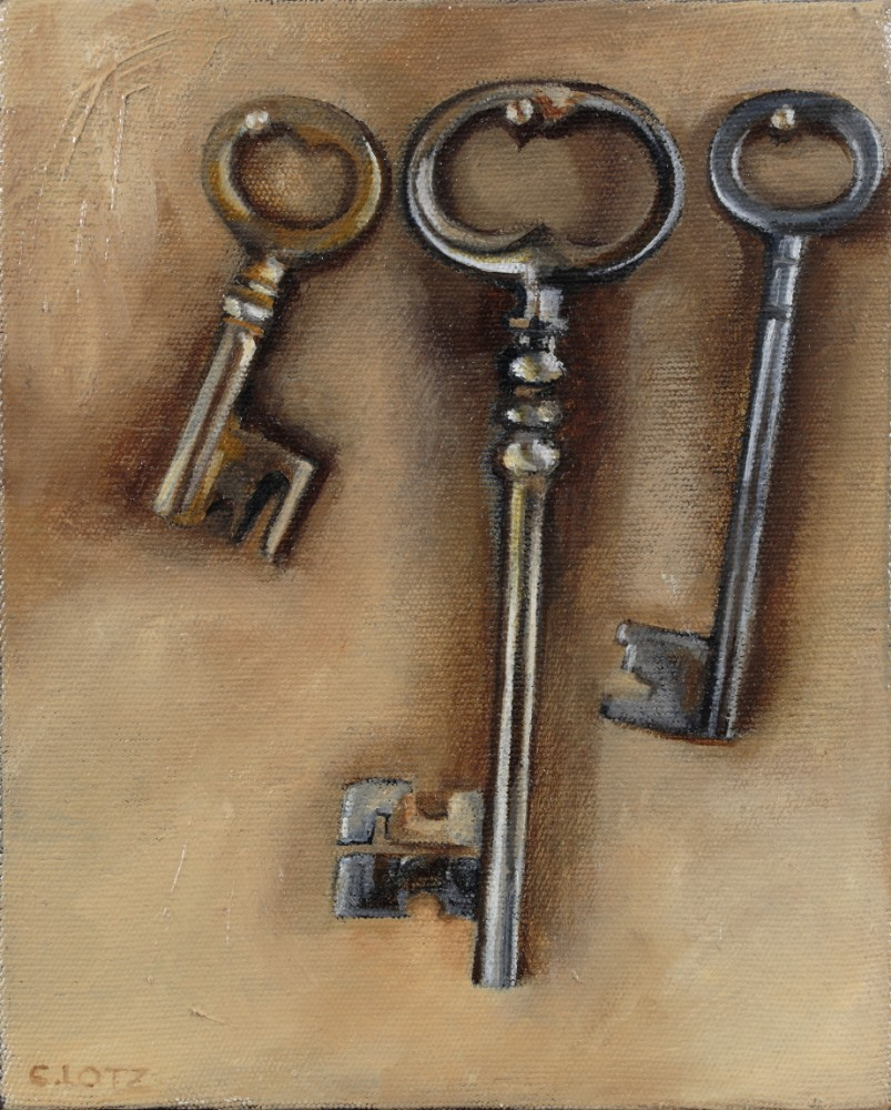 Three Old Keys by Cally Lotz
